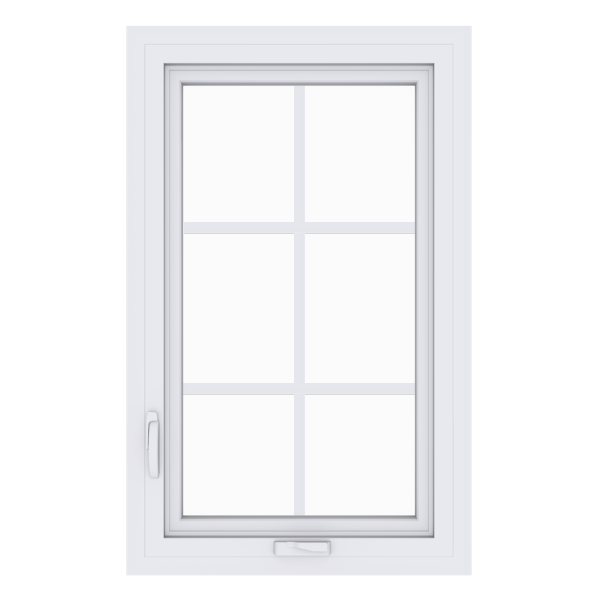Anlin casement window with colonial grids