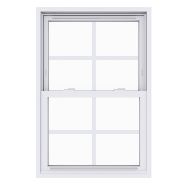 Anlin double hung window with colonial grids