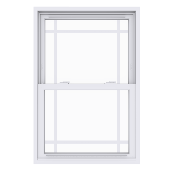 Anlin double hung window with perimeter grids