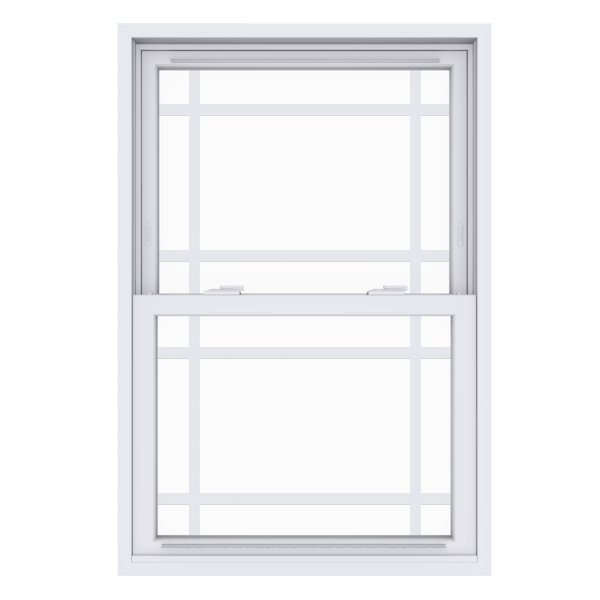 Anlin double hung window with queen anne grids