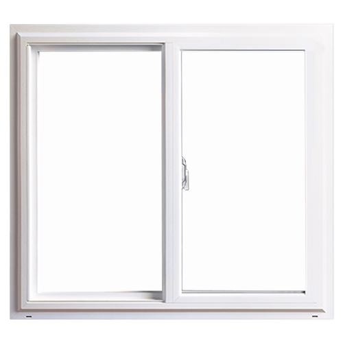 Anlin window frame with even sightlines