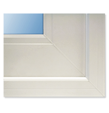 Anlin French style rail for sliding patio doors