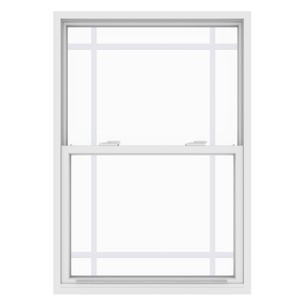 Anlin single hung window with perimeter grids