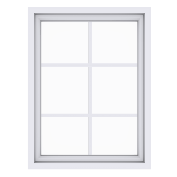 Anlin picture window with colonial grids