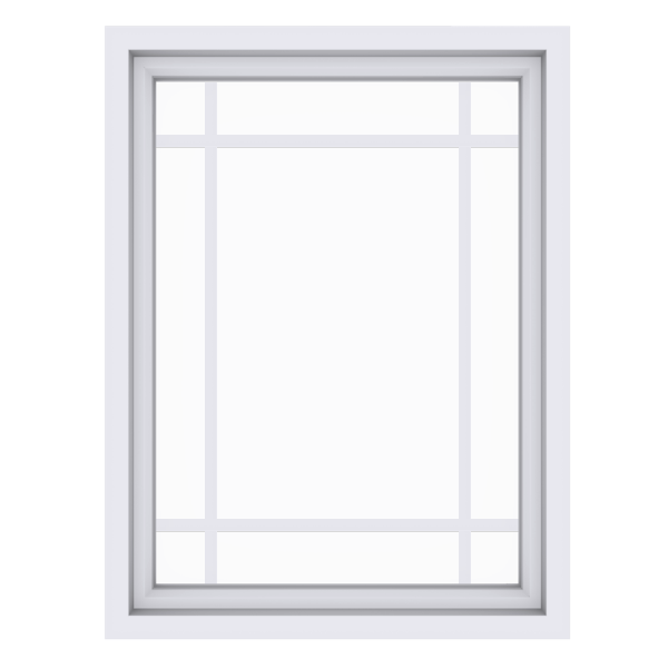 Anlin picture window with perimeter grids