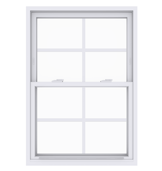 Anlin single hung window with colonial grids
