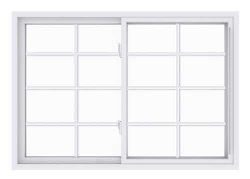 Anlin single slider window with colonial grids