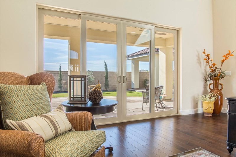 Anlin sliding patio door